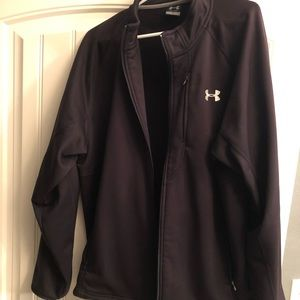 Black UA jacket, men's XL.
